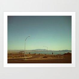 Heaven Or Las Vegas (Nevada, USA) Art Print