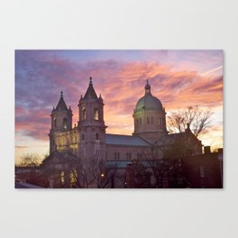 Cathedral of the Sacred Heart Canvas Print