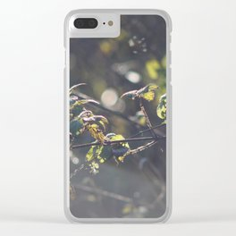 Nettles Clear iPhone Case