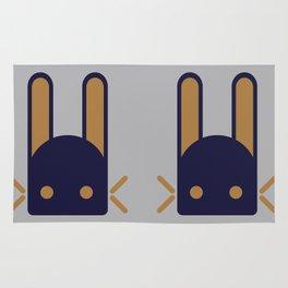 The rare Jade Rabbit Rug
