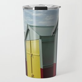 colorful huts Travel Mug