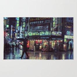 Tokyo Nights / Blade Runner Vibes / Rain / Liam Wong Rug
