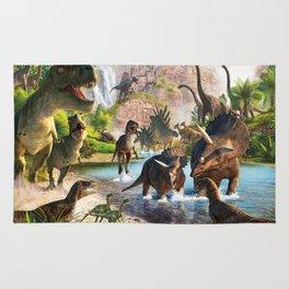 Jurassic dinosaur Rug