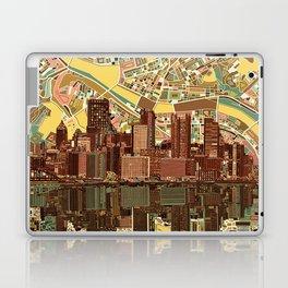 pittsburgh city skyline Laptop & iPad Skin