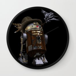 Steampunk Sci-Fi  Wall Clock