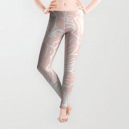 Pink Floral Leggings