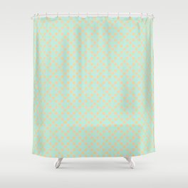 Margot Seashells Shower Curtain