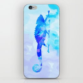 Abstract Chameleon Reptile iPhone Skin