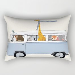 Road Trip Rectangular Pillow