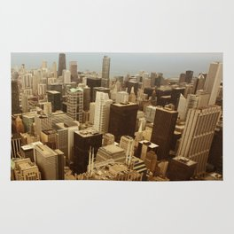 Chicago Roofs Rug