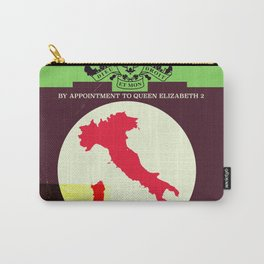 Vintage style Italy Map poster. Carry-All Pouch
