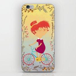 The Girl on the Bike, iPhone Skin