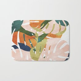 Monstera delight Bath Mat