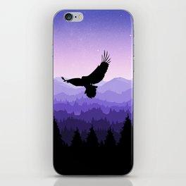 Eagle Skyline iPhone Skin