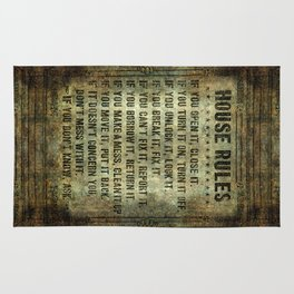 House Rules Rug