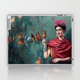 Frida Kahlo Butterfly Laptop & iPad Skin
