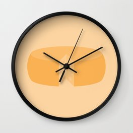 #20 Cheese Wheel Wall Clock