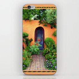 Garden Delights, Mesilla, NM iPhone Skin