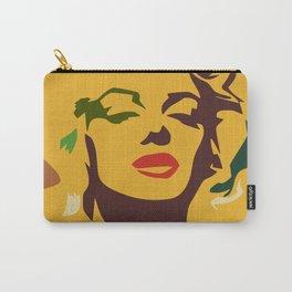 Monroe portrait print Carry-All Pouch