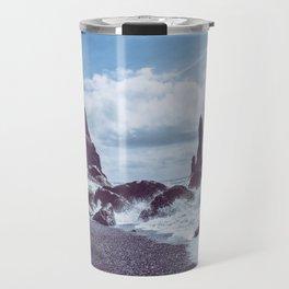 Raging Reynisdrangar Travel Mug