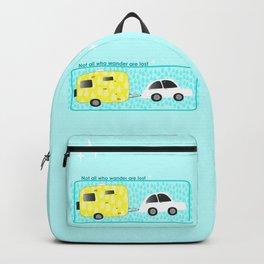 glamping in sun or rain Backpack