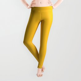 Ripe mango - solid color Leggings