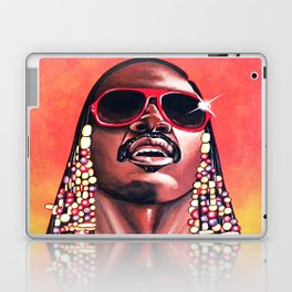 Stevie Wonder Laptop & iPad Skin