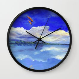 Hijos de la tierra (Sons of Mother Earth) Wall Clock