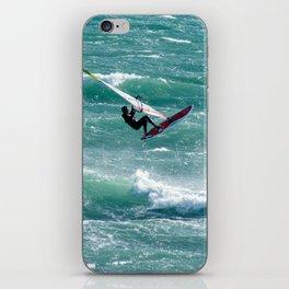 Windsurfing, Cottesloe Beach, Perth iPhone Skin