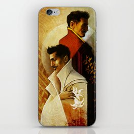Gemini Zodiac Sign Dorian Pavus iPhone Skin