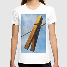 clothes pin T-shirt
