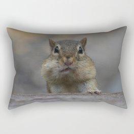 CHIPMUNK CHEEKS Rectangular Pillow