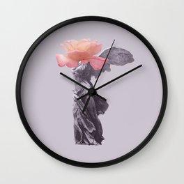 Just Bloom It Wall Clock