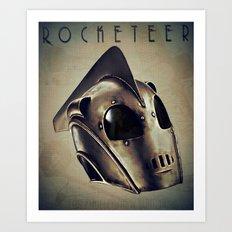 ROCKETEER! Art Print