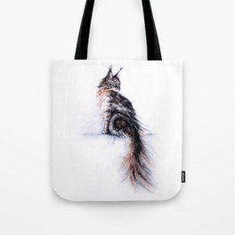 Ghost Woman Tote Bag