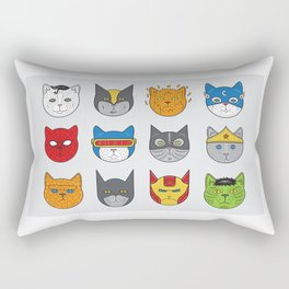 Super Cats Rectangular Pillow