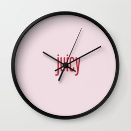 PINK JUICE Wall Clock