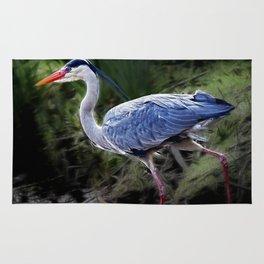Grey Heron Rug