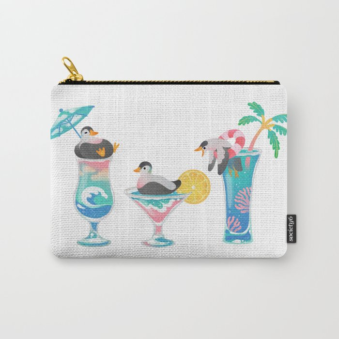 Summer cocktails Carry-All Pouch