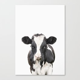Cow Art Canvas Print