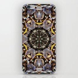 Mushroom Mandala iPhone Skin
