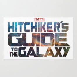 The Hitchhiker's Guide to the Galaxy | Inspired by Guardians of the Galaxy Rug