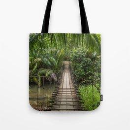 Bridge to Paradise - Costa Rica Tote Bag
