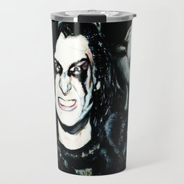 Wild Man with Wolves Travel Mug