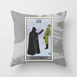 Judgement - Tarot Card Throw Pillow