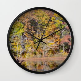 Tree Pastel Wall Clock