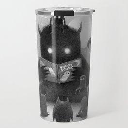 Story Time (black and white option) Travel Mug