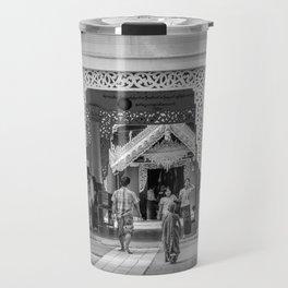 The Temple Visitors Travel Mug