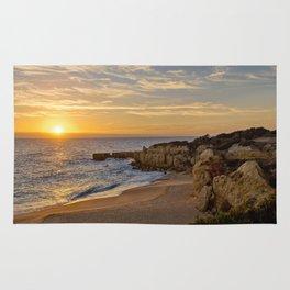 Algarve sunset, Portugal Rug