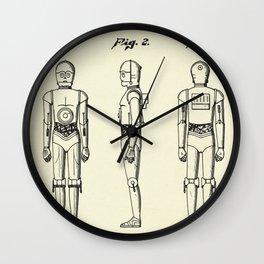 Robot C3PO-1979 Wall Clock